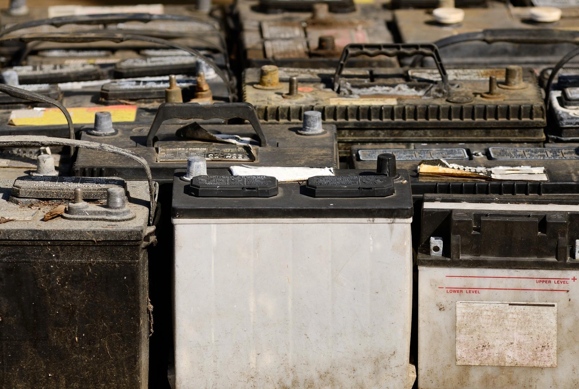 Car Van Truck Battery Recycling
