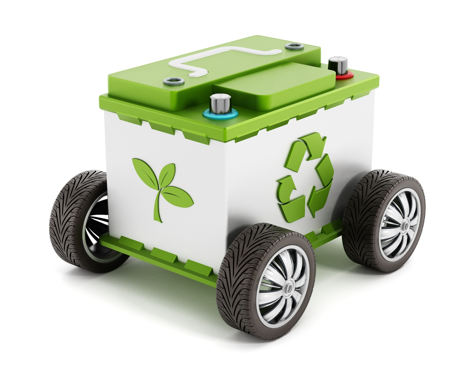 Different Sized Batteries Car